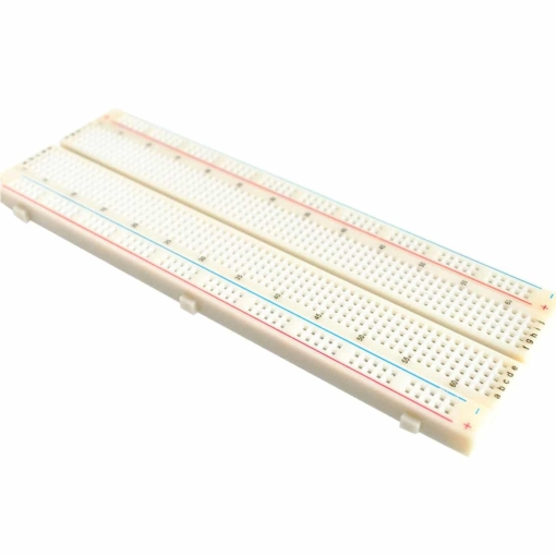 PHI1061833 – 830 Point Breadboard with Power Supply and 65pcs Jumper Cables – MB102 02