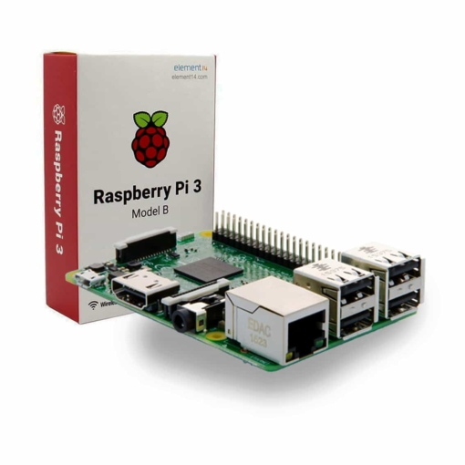 Raspberry Pi 3 Model B 1GB RAM - Quad Core 1.2GHz 64bit CPU WiFi and Bluetooth