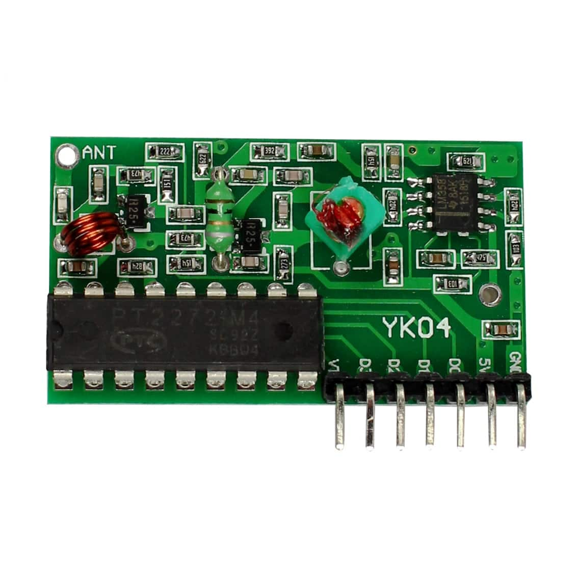 IC 2262 / 2272 4 Channel 315Mhz Wireless Remote Control Kit