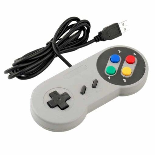PHI1041867 – Super Nintendo Style USB SNES Retro Game Controller – Pack of 2 02