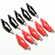 10 Piece 28mm Alligator Clip Set