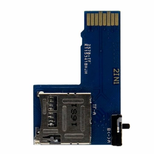 Dual SD Card Adapter for Raspberry Pi