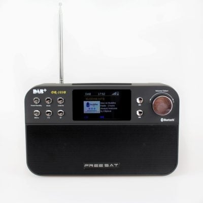 Portable DAB+ Digital FM Radio with Bluetooth Speaker, Analogue FM, Alarm Clock