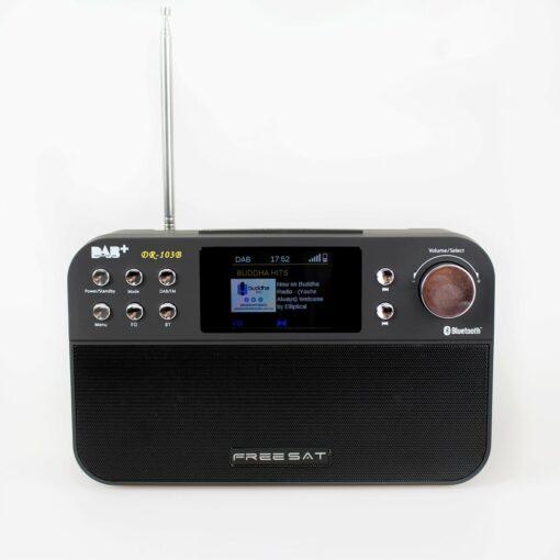 Portable DAB+ Digital FM Radio with Bluetooth Speaker, Analogue FM, Alarm Clock