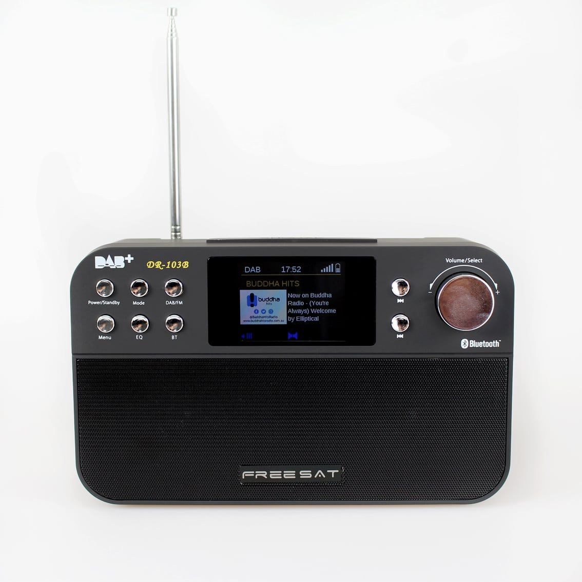 portable dab digital fm radio with bluetooth speaker. Black Bedroom Furniture Sets. Home Design Ideas