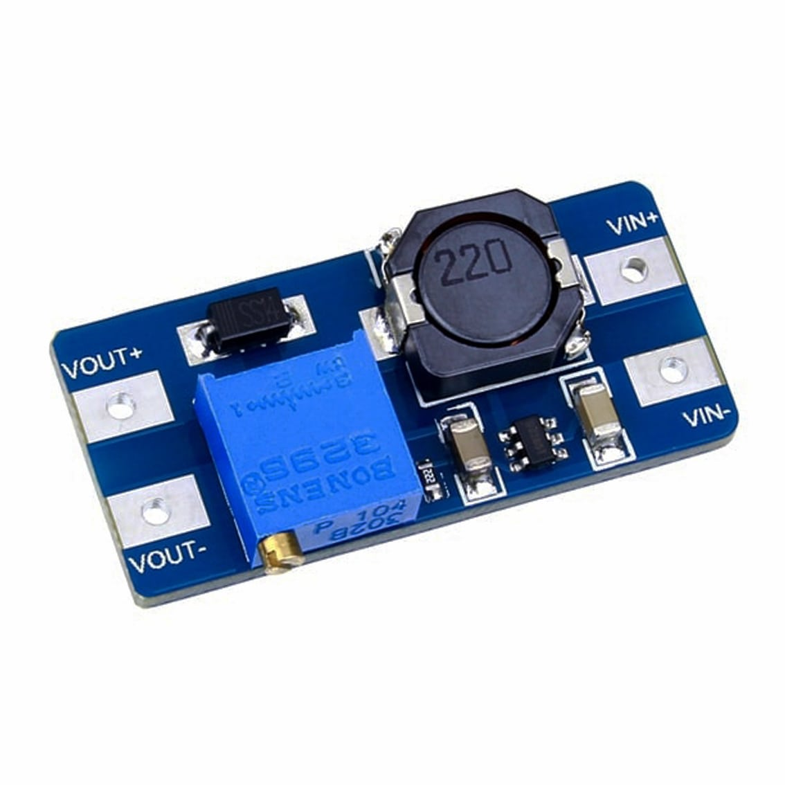 Mt3608 Step Up Adjustable Dc Switching Power Module Boost Converter