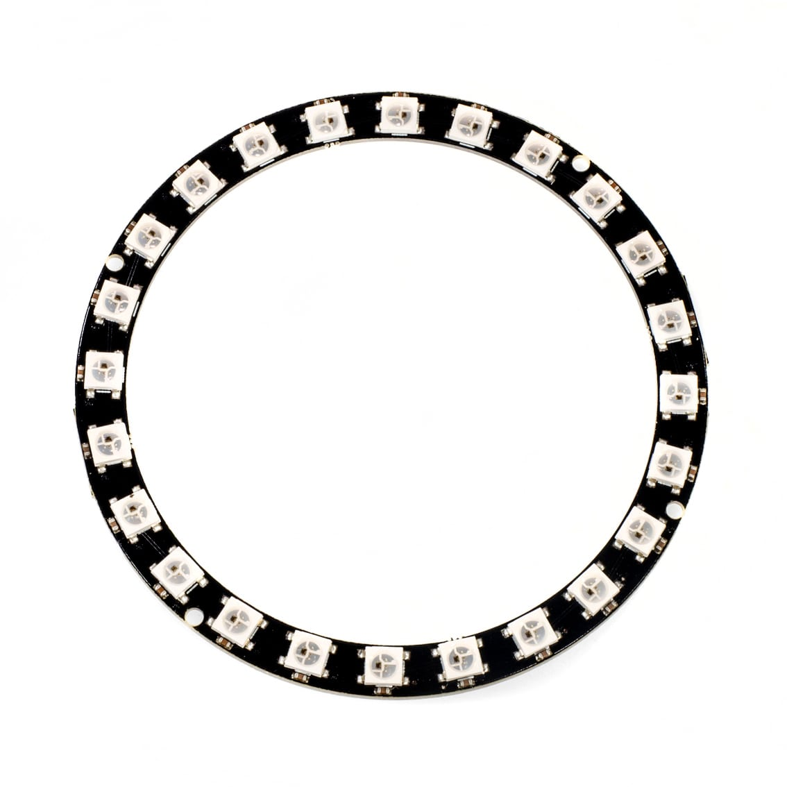 ws2812b 24 light rgb led ring module with integrated