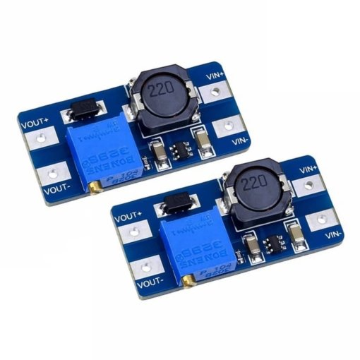 MT3608 Step-Up Adjustable DC-DC Switching Power Module Boost Converter - Pack of 2