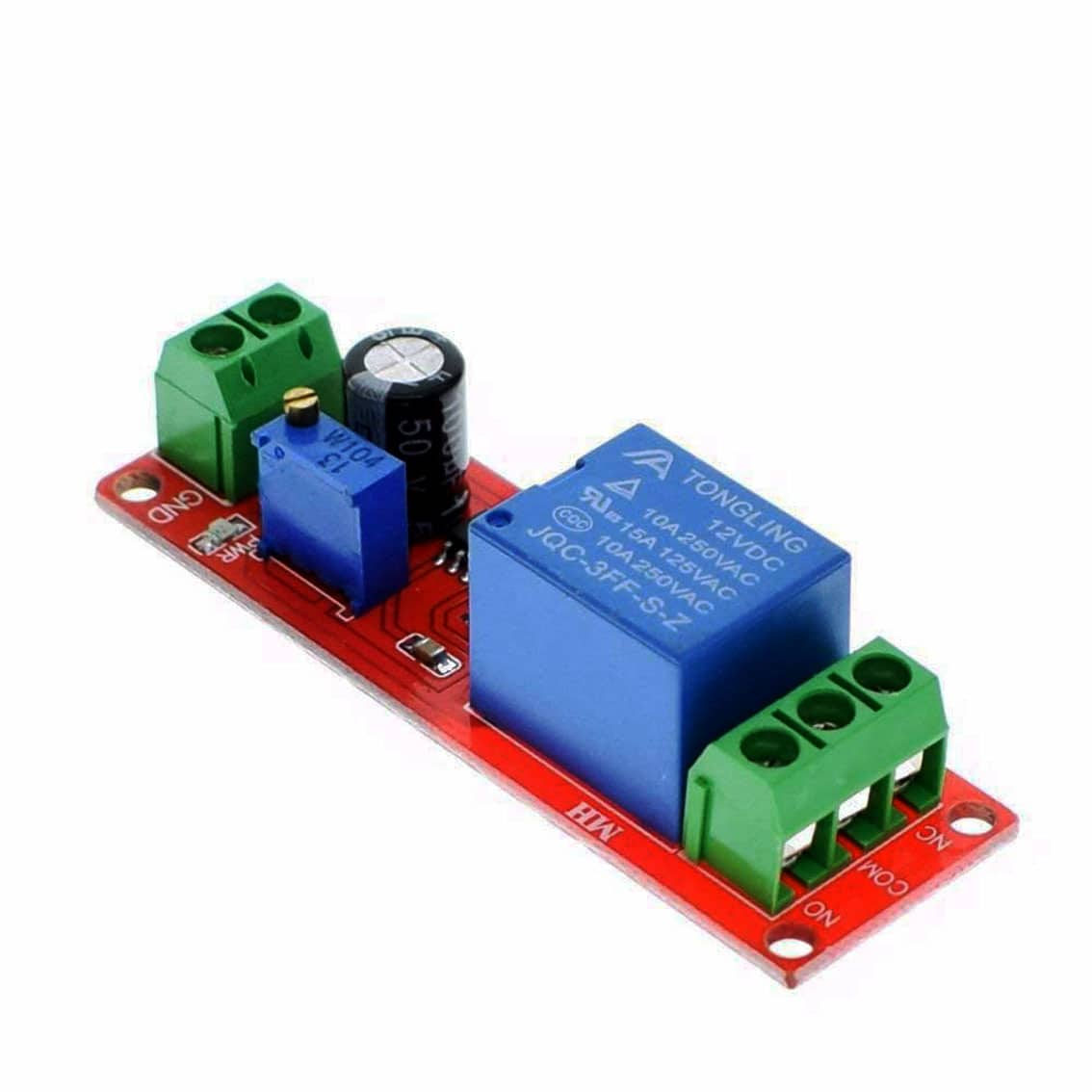 12v Adjustable 0 To 10 Second Delay Relay Module