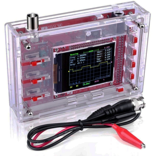 DS0138 Digital Oscilloscope Assembled with Acrylic Case