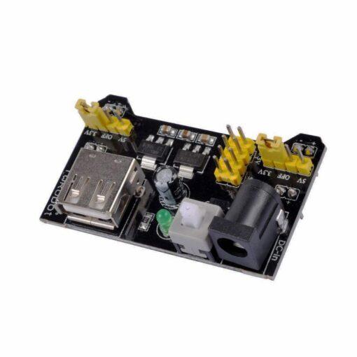 MB102 Breadboard Power Supply Black