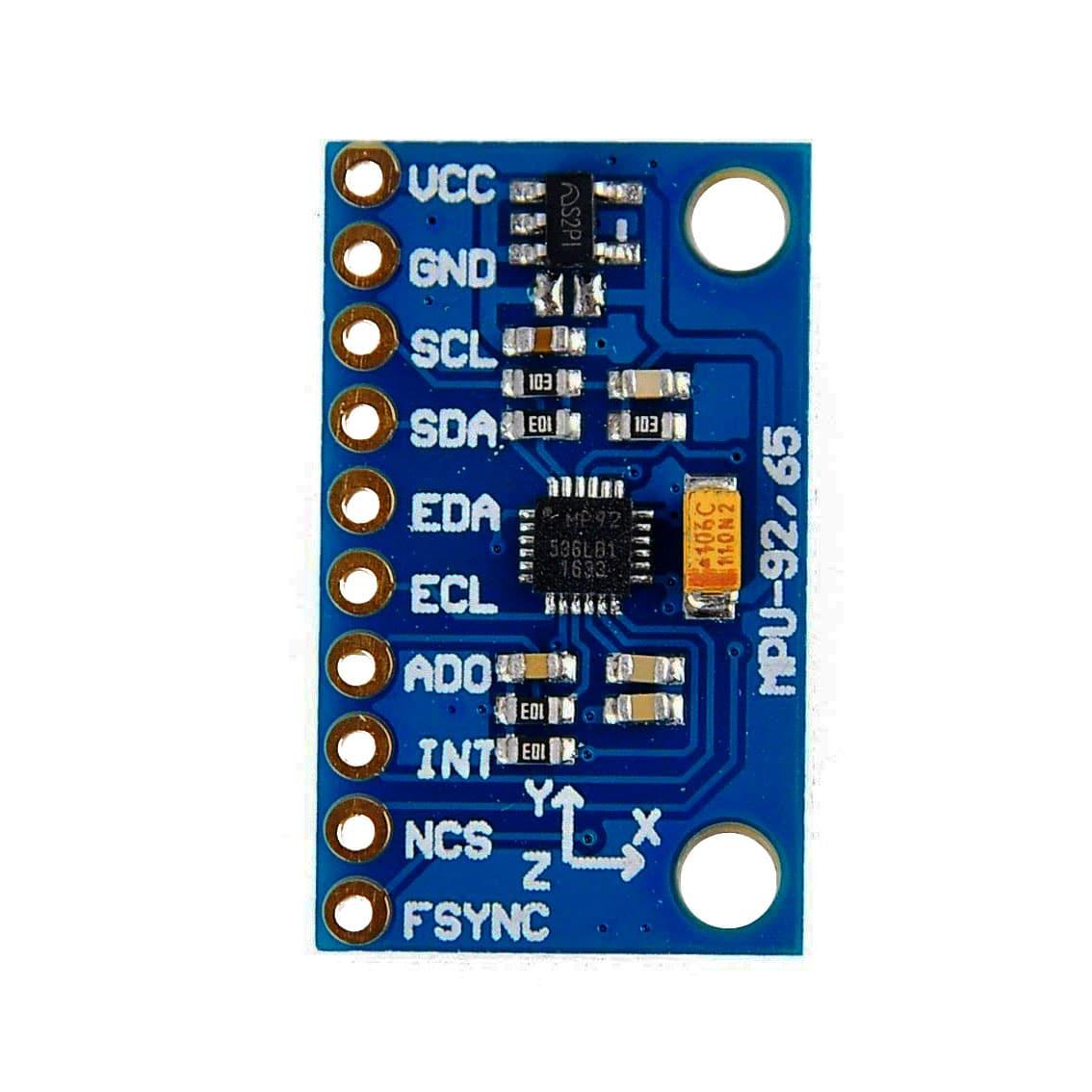 MPU9250 9-Axis Motion Sensor Module - Accelerometer, Gyroscope, Compass,  Motion - Phipps Electronics