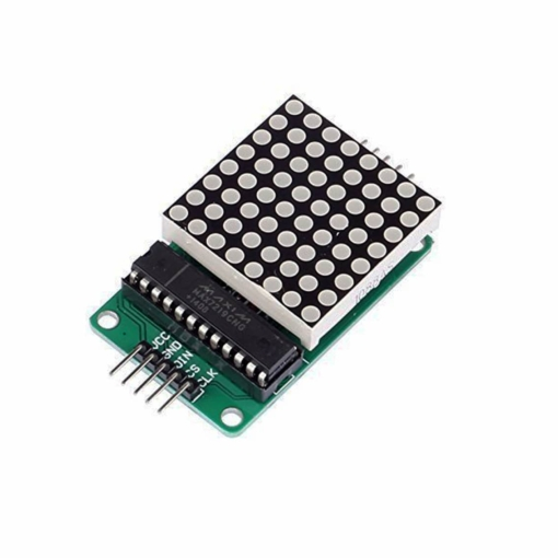 MAX7219 8×8 Serial Dot Matrix Display Module
