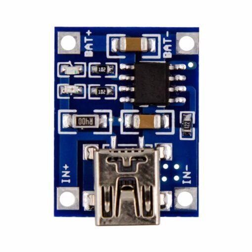 PHI1051327 – TP4056 Mini USB Lithium Battery Charging Board – 5V 1A 02