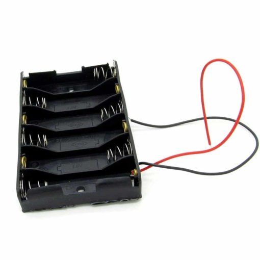6 x AA Battery Holder Box