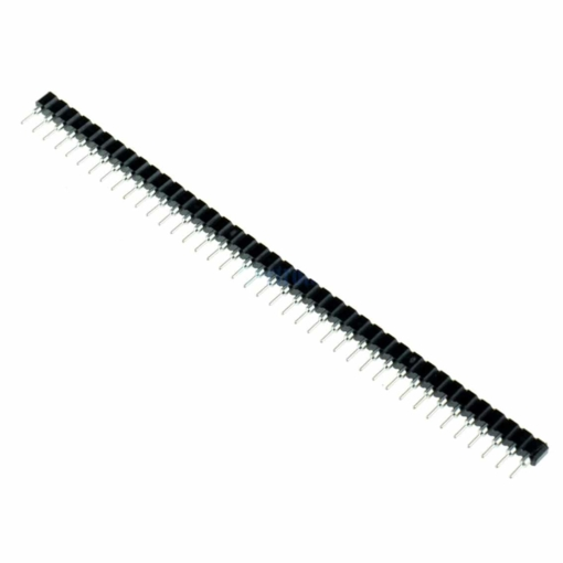 """2.54mm 0.1"""" 40 Way SIL Turned Male to Female Pin Headers – Pack of 5"""