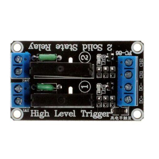5V 2 Channel 240V SSR High Level Solid State Relay