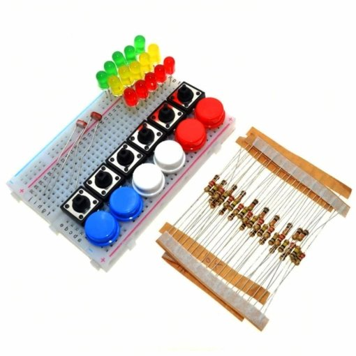 PHI1011828 – Electronics Component Kit with Breadboard – UNO R3 Compatible 02