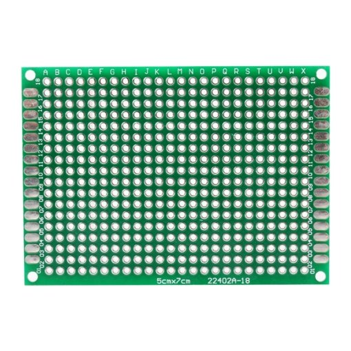 PHI1061829 – 432 Point Prototype PCB Breadboard 5 x 7cm – Pack of 3 03