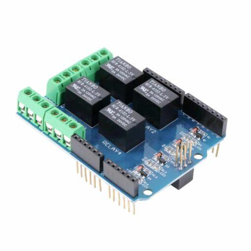 PHI1012245 – 4 Channel 5V Relay Board Shield 02