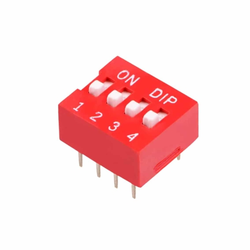 PHI1052130 – 4 Position DIP Switch – Pack of 5 02