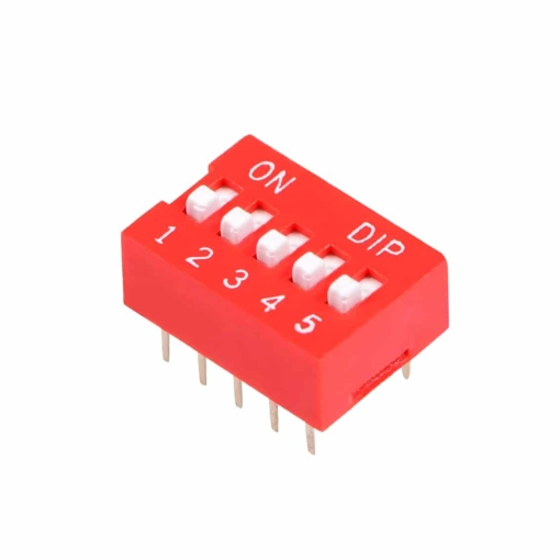 PHI1052131 – 5 Position DIP Switch – Pack of 5 02