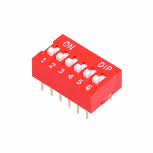 PHI1052132 – 6 Position DIP Switch – Pack of 5 02
