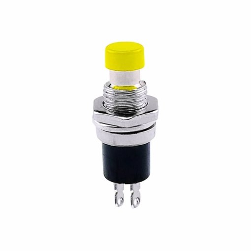 PHI1052136 – Yellow Push Button Switch PBS-110 – Pack of 5 02
