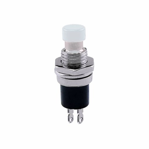 PHI1052137 – White Push Button Switch PBS-110 – Pack of 5 02