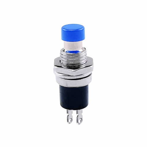 PHI1052140 – Blue Push Button Switch PBS-110 – Pack of 5 02