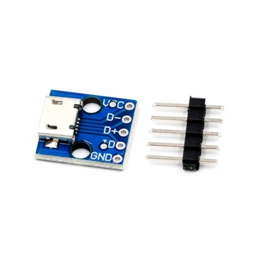 PHI1072200 – CJMCU 5V Micro USB Power Adapter Breakout Board 04