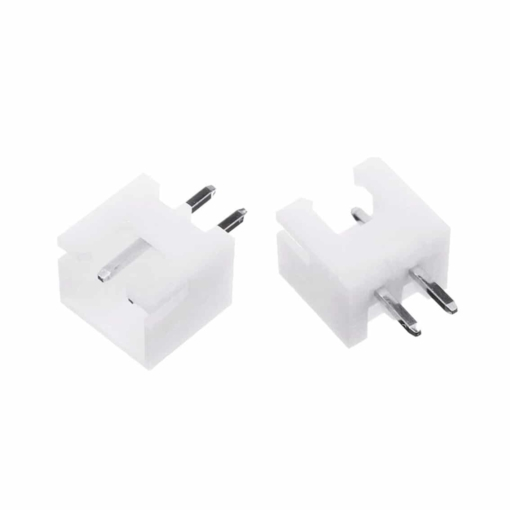 PHI1052159 – XH 2 Pin Straight White Connector Block 2.54mm 02