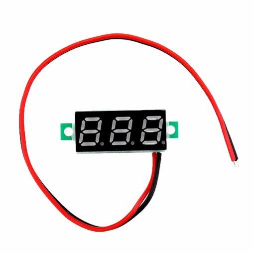 PHI1072192 – 0.28 Inch Yellow Digital DC Voltmeter – 2.5V – 30V Range 02