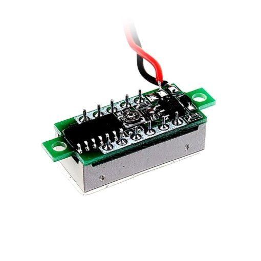 PHI1072192 – 0.28 Inch Yellow Digital DC Voltmeter – 2.5V – 30V Range 03