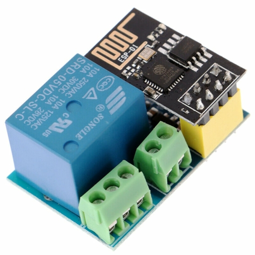 PHI1072240 – ESP8266 5V WiFi Relay Board Module – ESP-01S 02