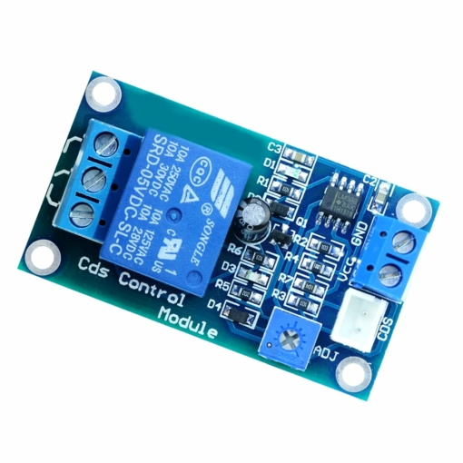 PHI1072253 – 12V Light Sensor Photoresistor Relay Board Module 02