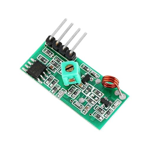 PHI1072291 – 433MHz RF Wireless Transmitter and Receiver Module Kit 03